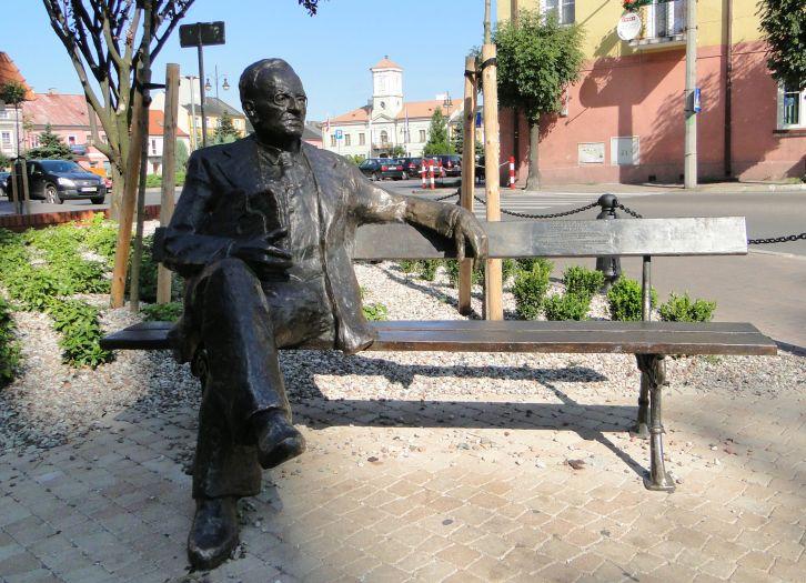 Mehoffer-Denkmal in Turek