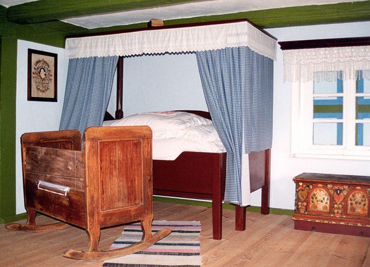 In einer Siedler-Hütte. Freilichtmuseum Großpolnischer Ethnographischer Park Dziekanowice