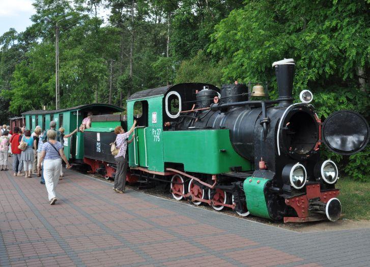 Das Schmalspurbahnmuseum in Wenecja