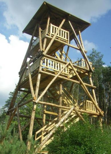 Aussichtsturm Jagoda in Osieczna