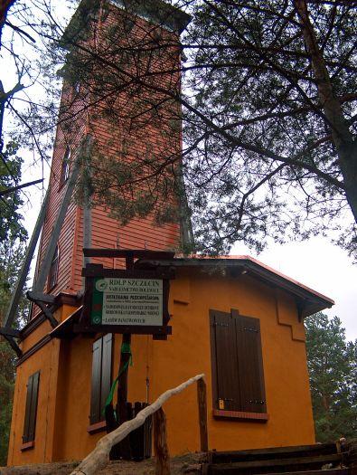 Aussichtsturm der Maria in Pąchy