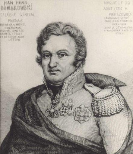 Herb Dąbrowski, Jan-Henryk (1755–1818)