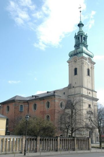 Holy Cross Church in Leszno