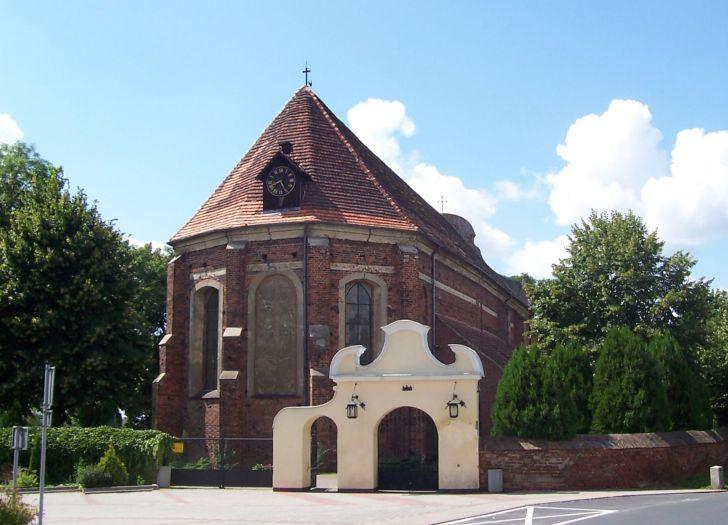 Herb St. Michael the Archangel's Church in Dolsk