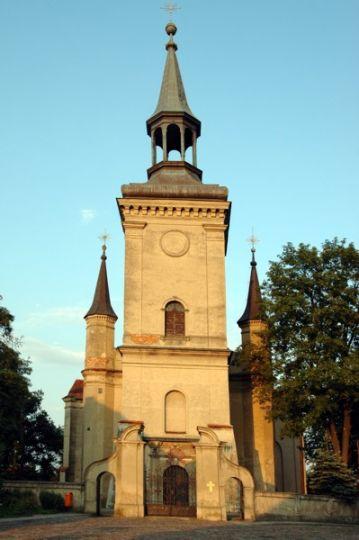 Herb The Holy Trinity Church in Osieczna