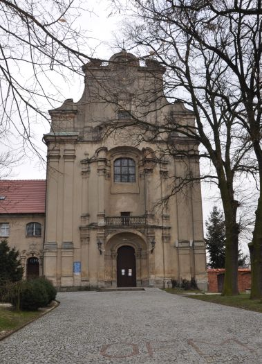 Herb St. Valentine's (Franciscan Friars') Church in Osieczna