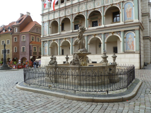 Fountain of Prozepina in the Old Market Square