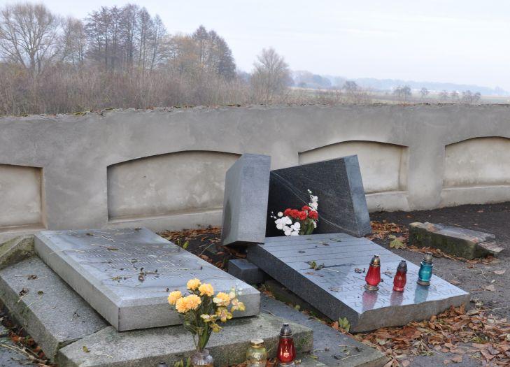 Grób Stanisława Hebanowskiego w Gieczu
