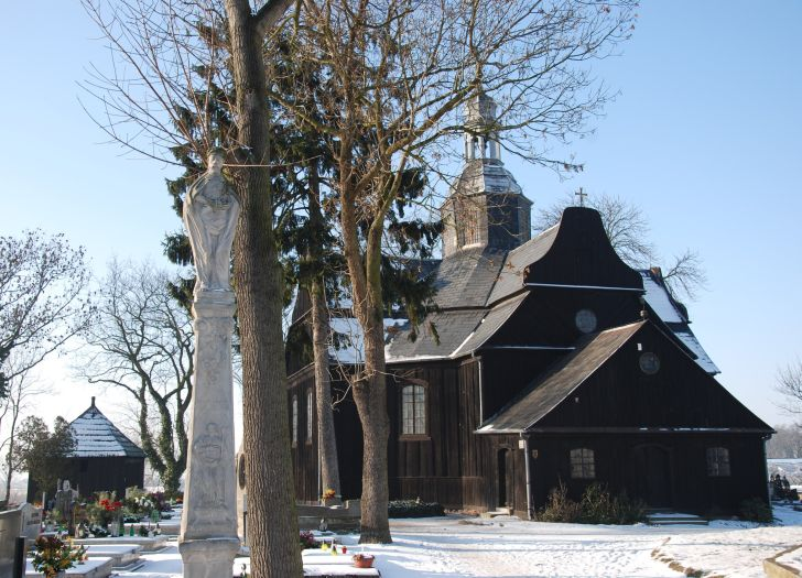 St Cross Wooden Church in Buk