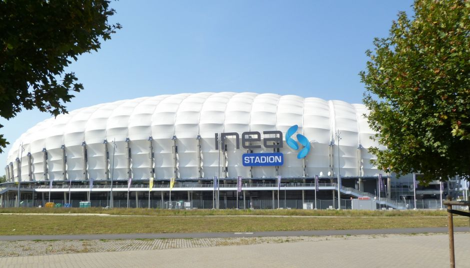 Herb Stadium in Poznań