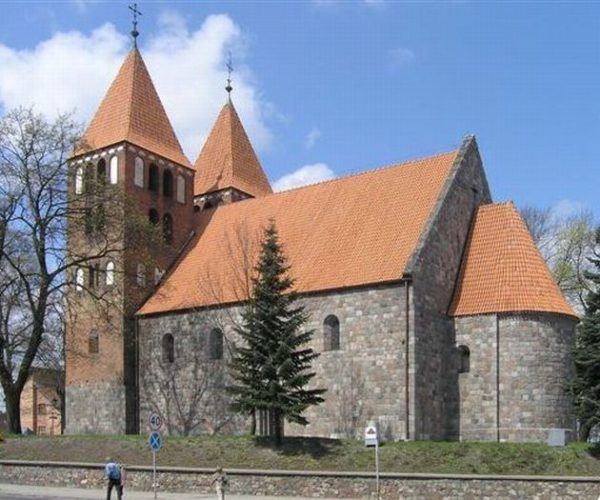 The church of the Name of Our Lady (The Ruin) in Inowrocław