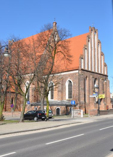 The Elevation of the Holy Cross church in Koło