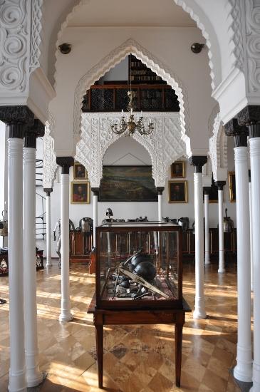 Moorish hall