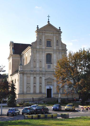 The Carmelite church of St. Joseph, Poznań