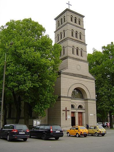 St. Stanislaus Kostka's church in Złotów