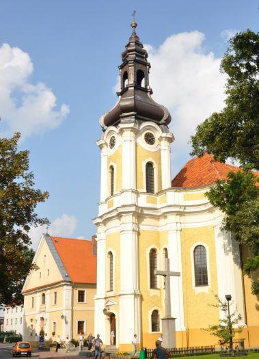 The former Trinitarian complex in Krotoszyn