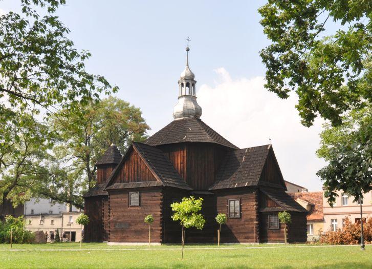 Herb St. St. Fabian's and Sebastian's Church in Krotoszyn