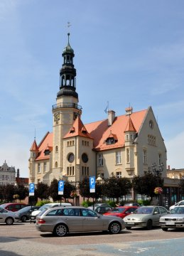 Herb The Town Hall in Krotoszyn