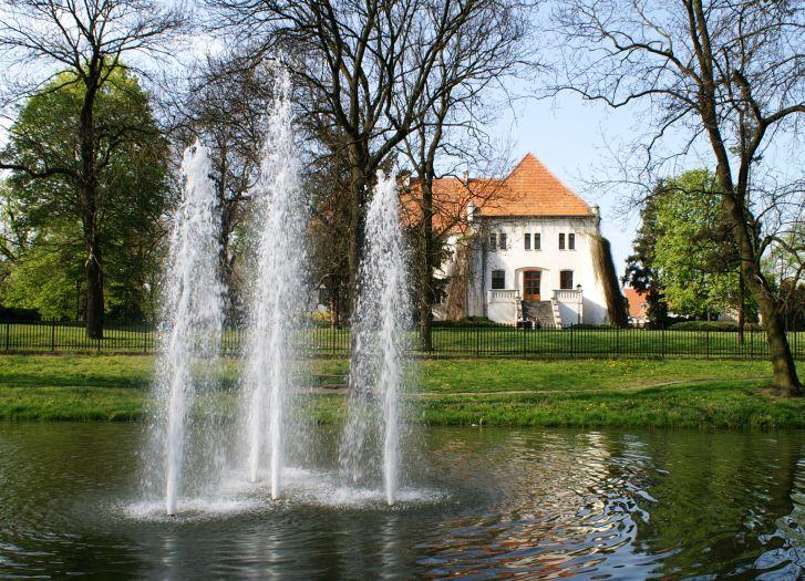 Herb The Górkas' Castle Museum in Szamotuły