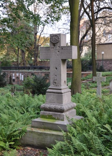 The oldest cemetery in Poznań