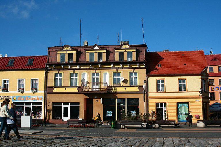 The Old Town in Złotów