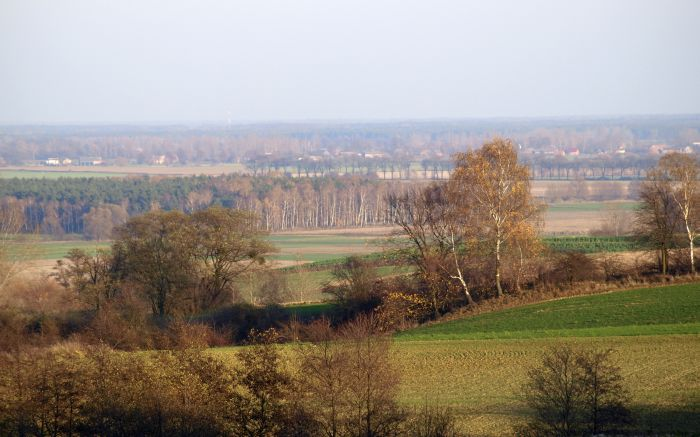 The panorama of Żerków Switzerland