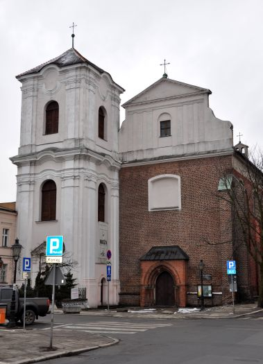 Jesuit monastic Church of the most Sacred Heart of Jesus and Our Lady of Consolation in Poznań