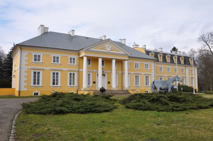 The Jabłonowskis' Palace in Racot