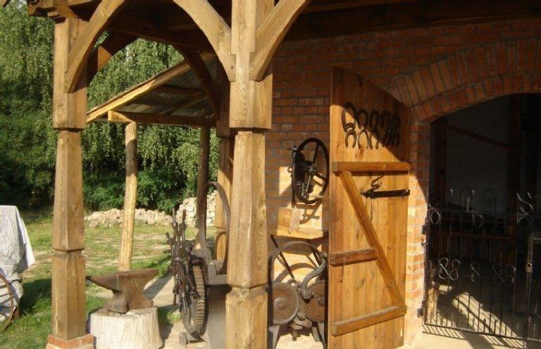 The Folk Buildings Heritage Park in Wolsztyn