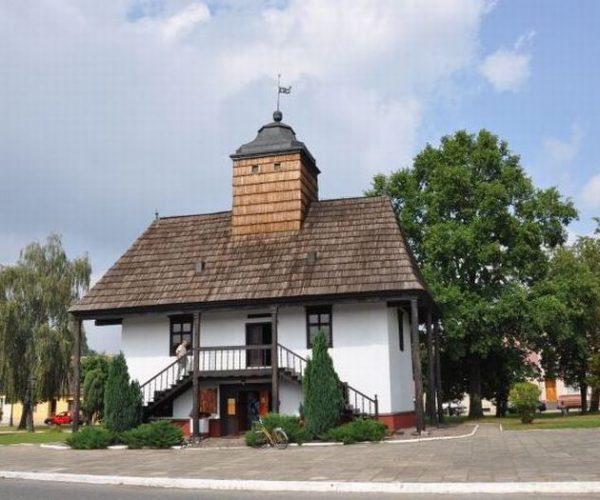 The last remaining Polish wooden town hall in Sulmierzyce