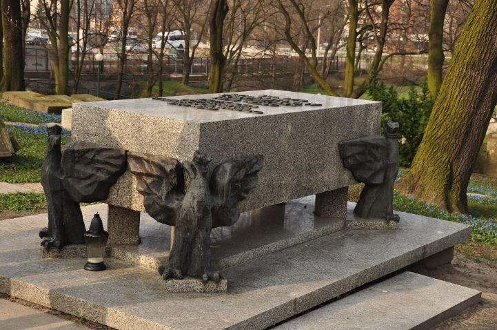 Cmentarz Zasłużonych w Poznaniu- grób Stanisława Taczaka