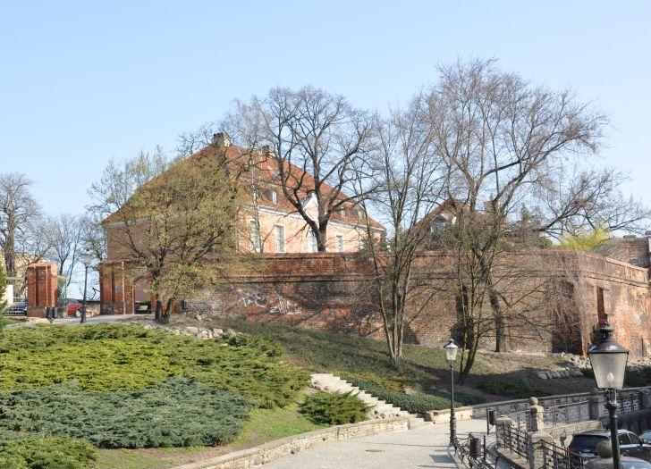 Wzgórze Przemysła - widok na zamek
