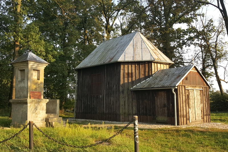 """Herb Kaplica pw. św. Hieronima """"Na Puszczy"""" w Sompolnie"""