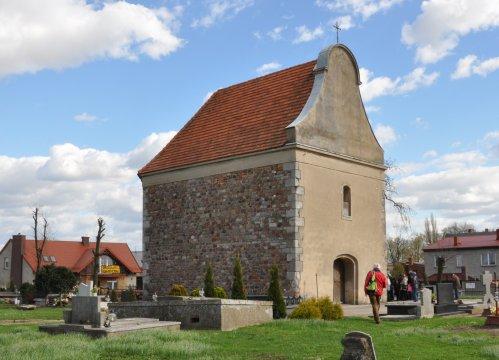 Herb Kościół pw. św. Idziego w Krobi