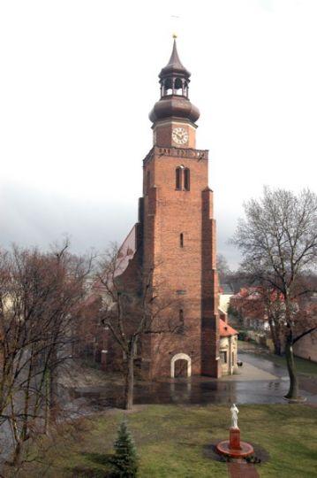 Herb Kościół pw. św. Jana Chrzciciela w Lesznie