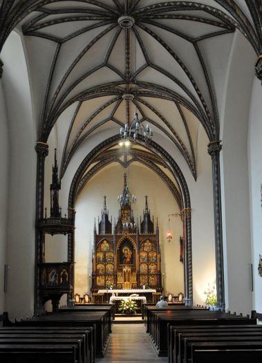 Kaplica Matki Boskiej Różańcowej w kościele jezuitów w Poznaniu