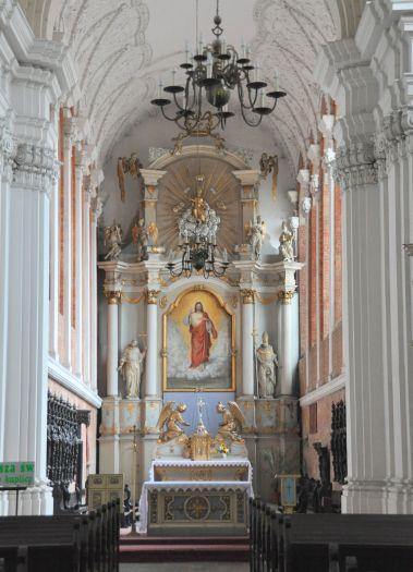 Prezbiterium kościoła jezuitów w Poznaniu