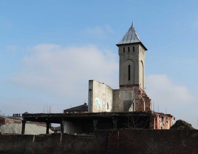 Herb Zespół budynków fabryki przetworów ziemniaczanych w Luboniu