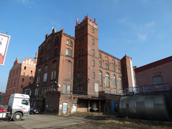 Dawna fabryka drożdży w Luboniu