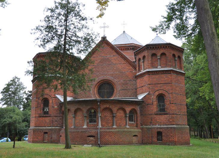 Kaplica - mauzoleum Radziwiłłów w Antoninie