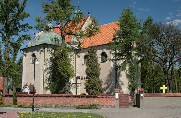 Barokowy kościół pw. Wniebowzięcia NMP w Złotowie