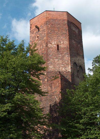 Herb Zamek w Ostrzeszowie