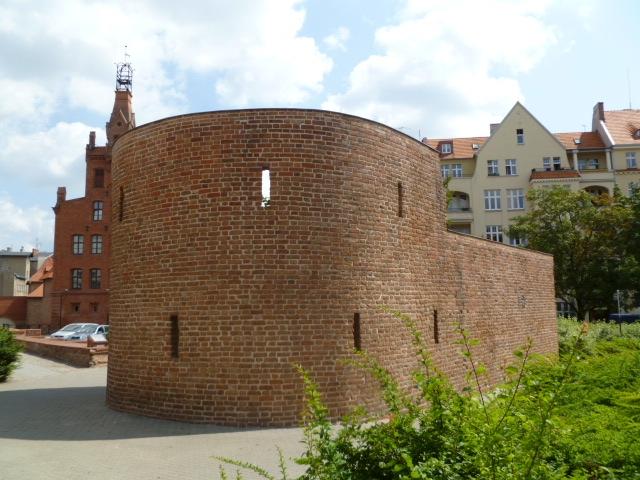 Baszta przy ul. Masztalarskiej w Poznaniu