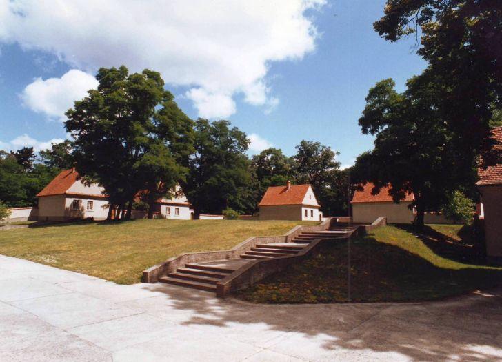Teren pustelni w Bieniszewie