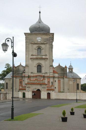 Herb Kościół pw. Pocieszenia NMP w Borku Wielkopolskim