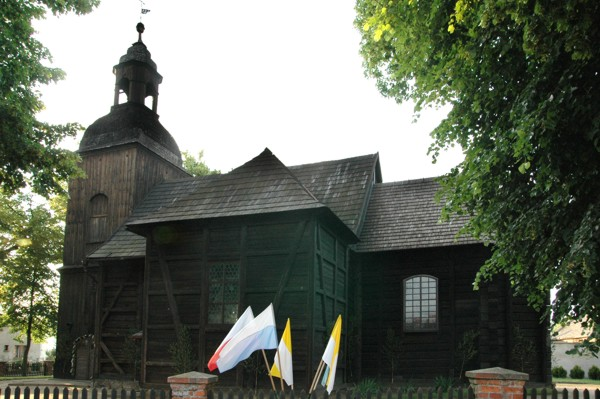 Herb Kościół pw. św. Franciszka z Asyżu w Bronikowie