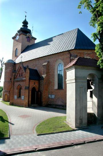 Herb Kościół pw. Niepokalanego Poczęcia NMP w Bytyniu