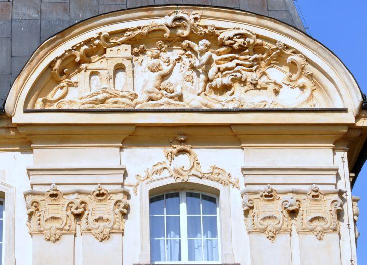 Pałac w Ciążeniu - detal architektoniczny