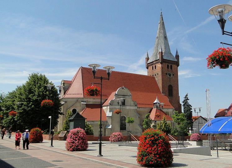 Herb Kościół pw. św. Marii Magdaleny w Czarnkowie