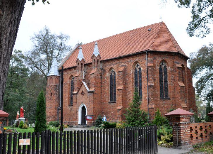 Kościół w Dębnie nad Wartą